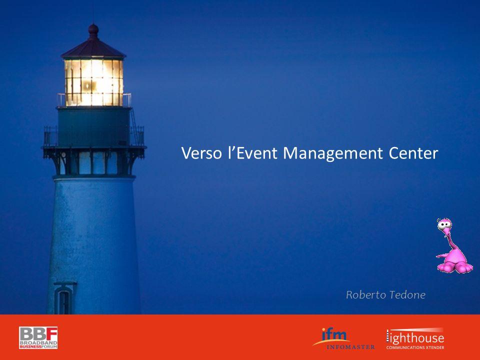 Verso lEvent Management Center Roberto Tedone