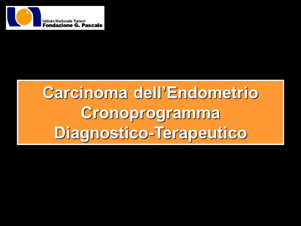 Carcinoma dellEndometrio CronoprogrammaDiagnostico-Terapeutico