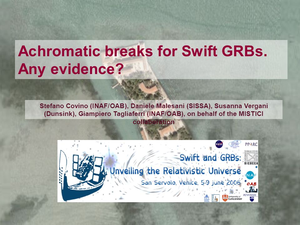 Achromatic breaks for Swift GRBs. Any evidence.