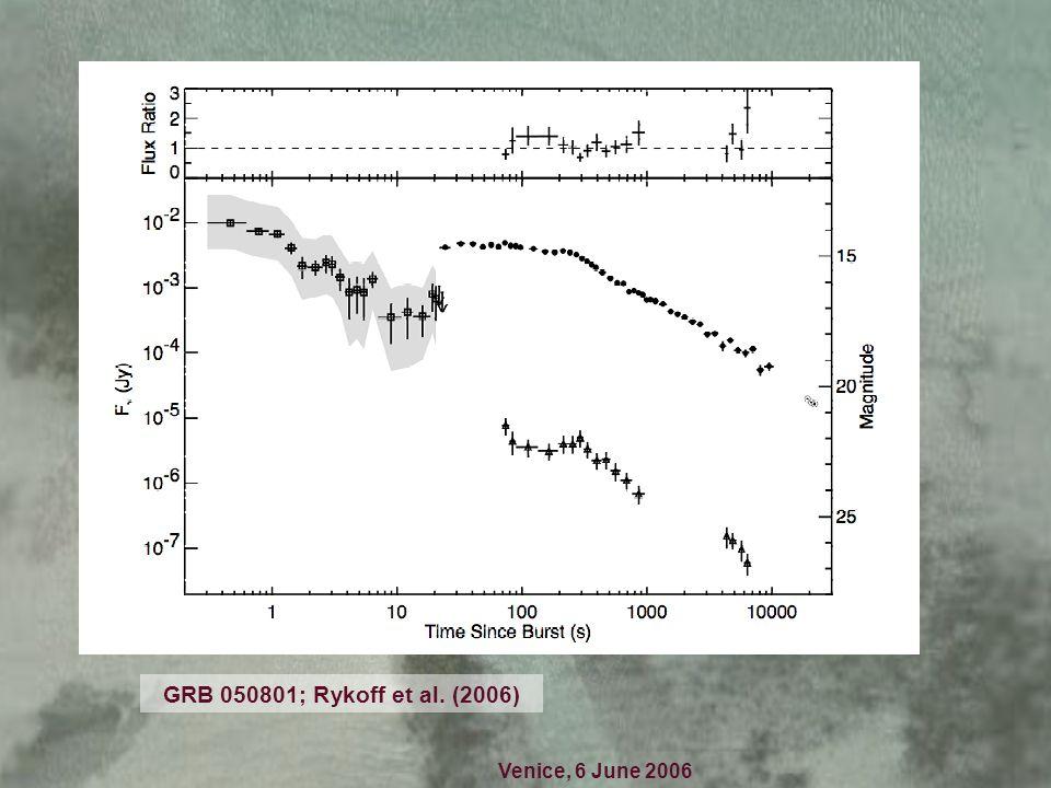 Venice, 6 June 2006 short GRB 051221; Soderberg et al. (2006); Fox (talk)