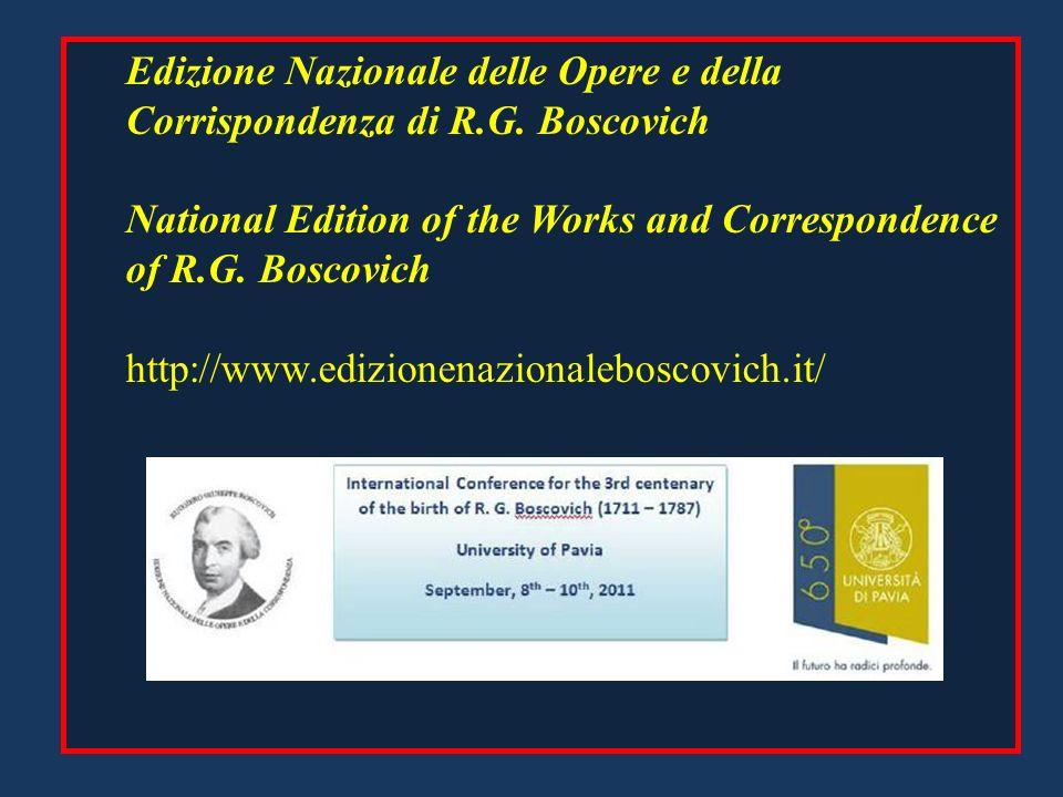 Edizione Nazionale delle Opere e della Corrispondenza di R.G.