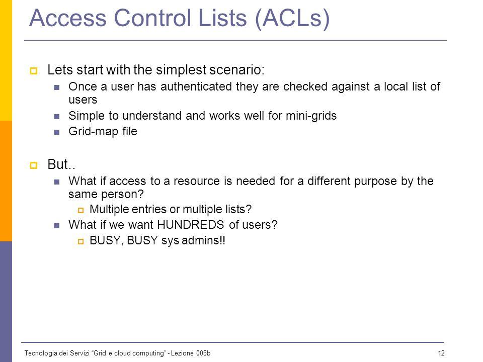 Tecnologia dei Servizi Grid e cloud computing - Lezione 005b 11 What Can I Do.