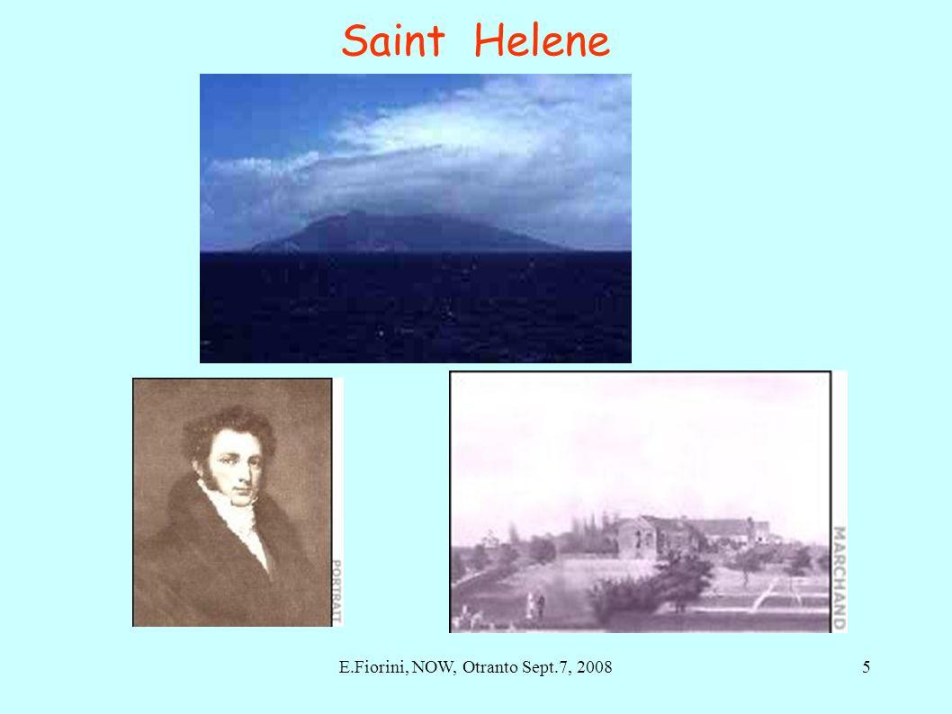 Saint Helene 5E.Fiorini, NOW, Otranto Sept.7, 2008