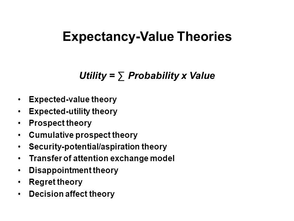 Vier heterogene Datensätze 1) Klassische Entscheidungsprobleme (14) (Kahneman & Tversky, 1979) 2) Spiele, mit fünf Ausgängen (90) (Lopes & Oden, 1999) 3) Entscheidungsprobleme zwischen Spiel und sicherem Betrag (56) (Tversky & Kahneman, 1992) 4) Spiele mit ungleichem Erwartungswert (100) (Erev et al., 2002) A 77 mit p = 0.49B 98 mit p = 0.17 0 mit p = 0.51 0 mit p = 0.83 EV = 37.7 EV = 16.7