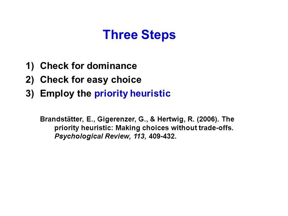 Results (Kahneman & Tversky, 1979)