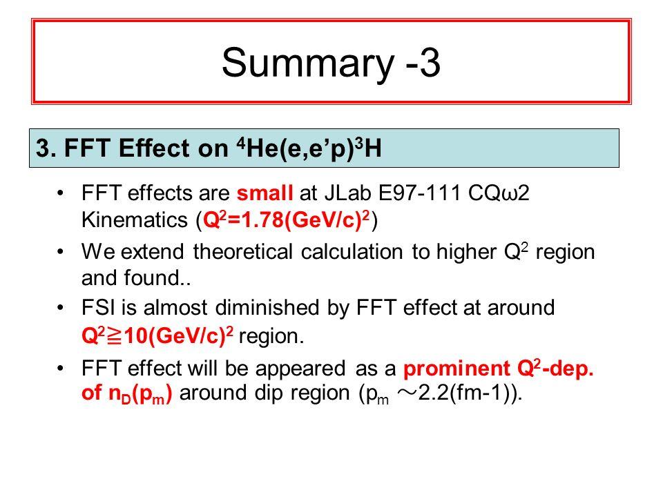 Summary -3 3.