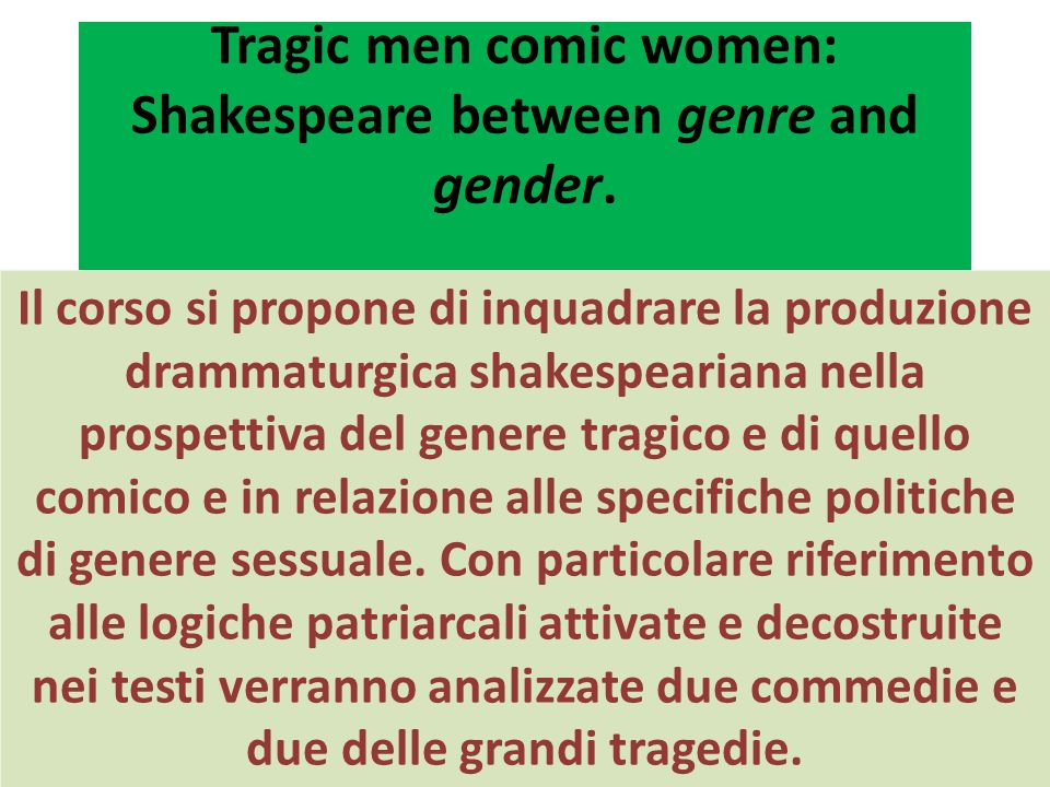 SOURCES FOR ENGLISH DRAMATIC CRITICISM: ARISTOTLE, Poetics Decorum: no mixture of tragic (lofty) with comic (low) materials respect of the space/time/genre unities