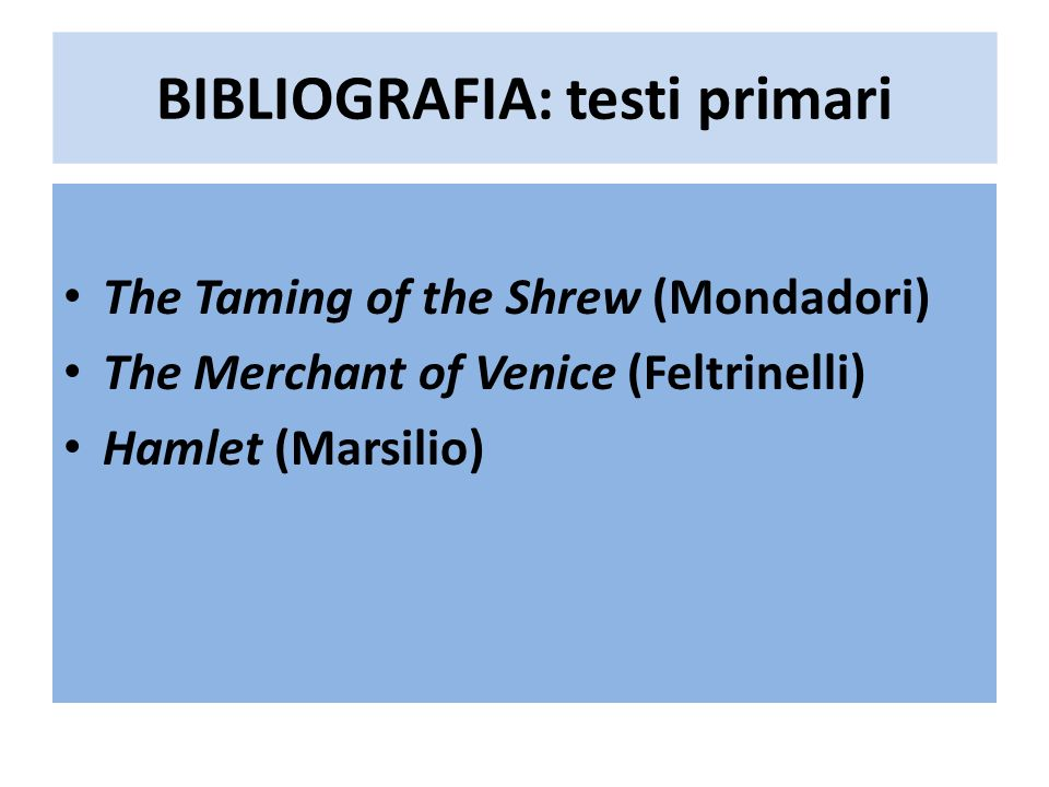 The Taming of a Shrew (1594) Bad (very bad) Quarto or Source or early draft or reported text or analogous from a third UR-Text (almost identical plot but different wording and character names, much more misogynist) The Taming of the SrewThe Taming of a Srew