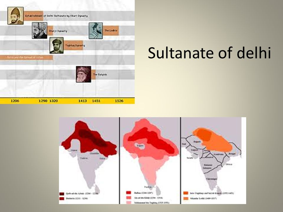Sultanate of delhi