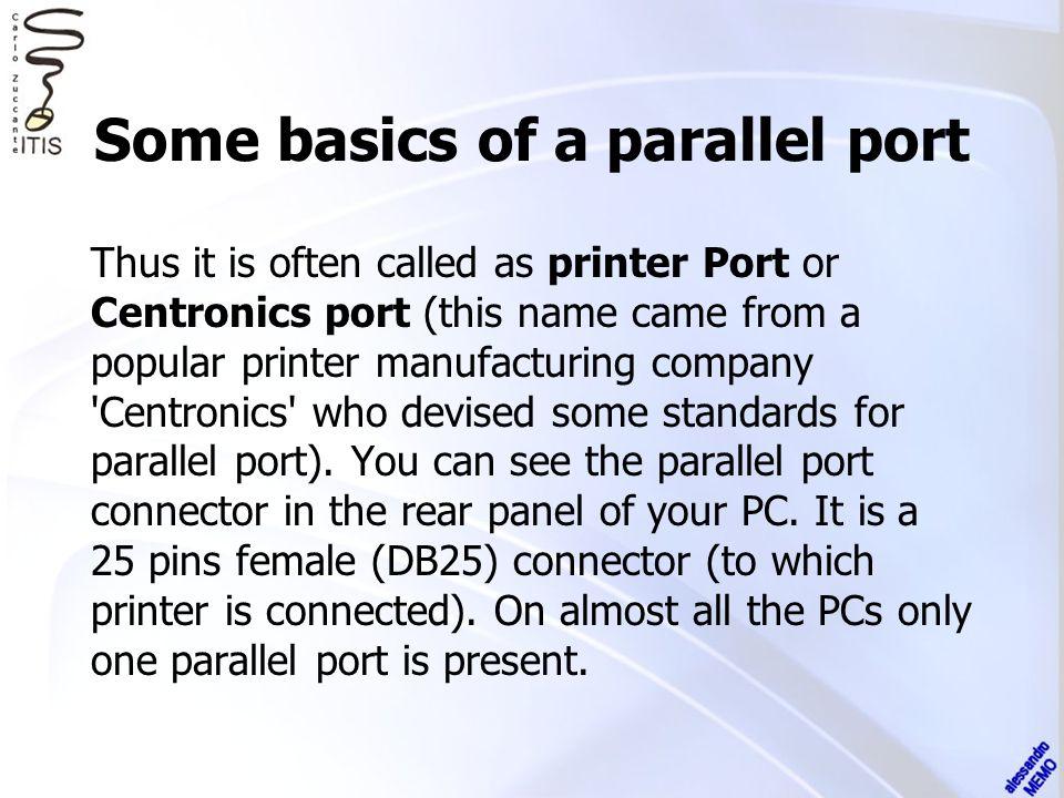 Standard Interface Description