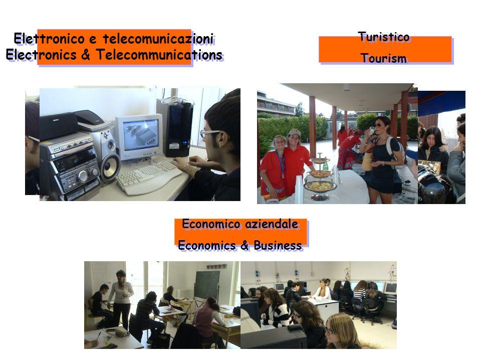 Elettronico e telecomunicazioni Electronics & Telecommunications Elettronico e telecomunicazioni Electronics & Telecommunications Turistico Tourism Tu