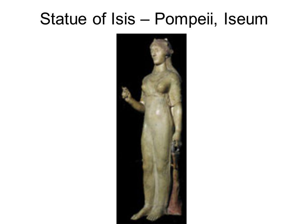 Statue of Isis – Pompeii, Iseum