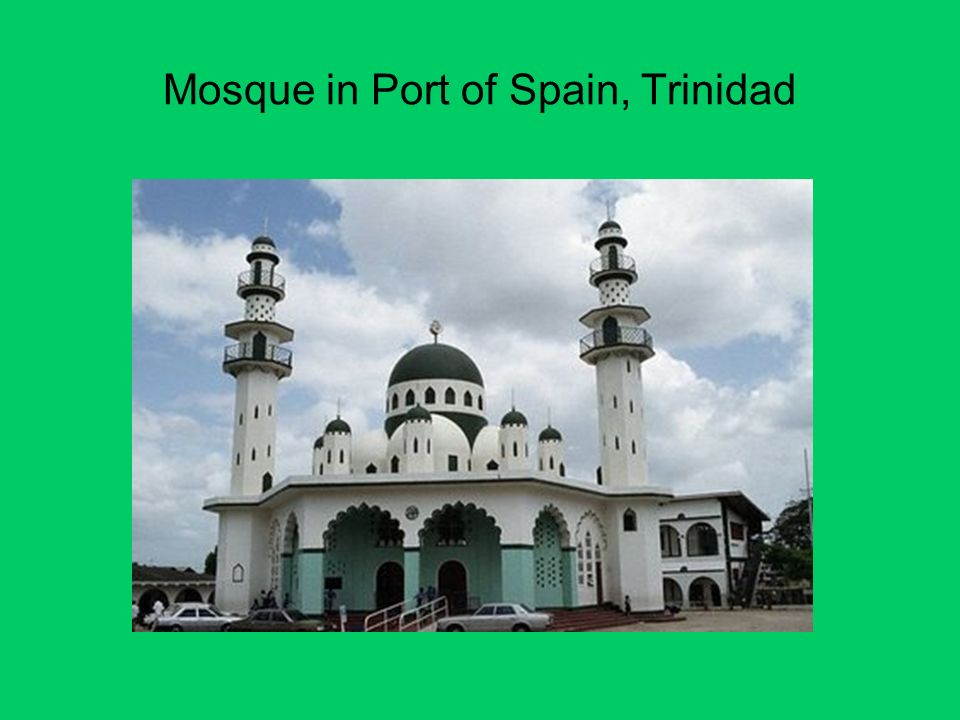 Mosque in Port of Spain, Trinidad