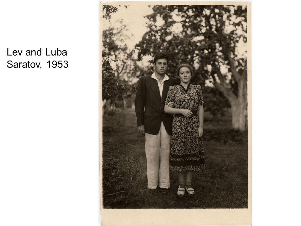 Luba and Lev Leningrad, 1954