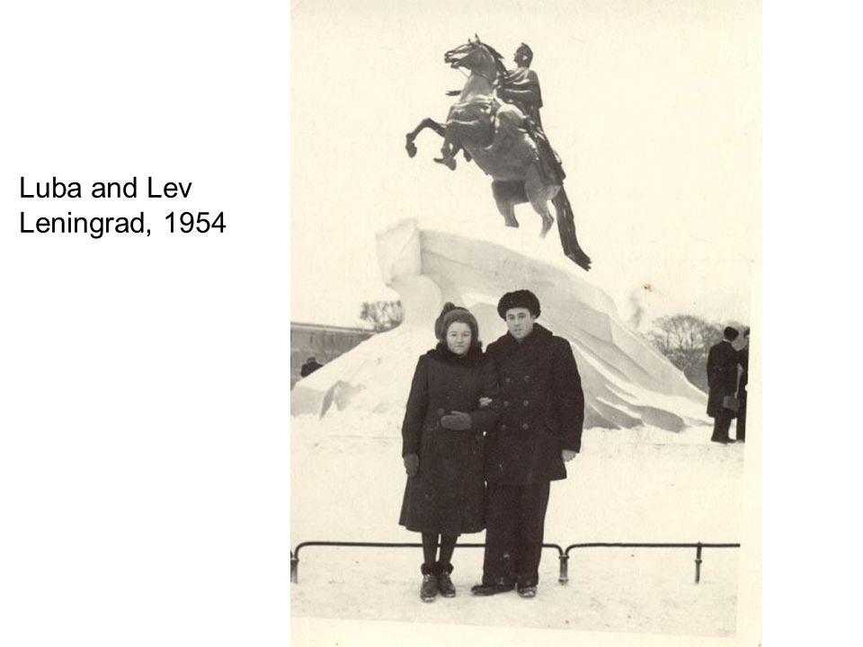 Milano, 1990 Luba and Lev