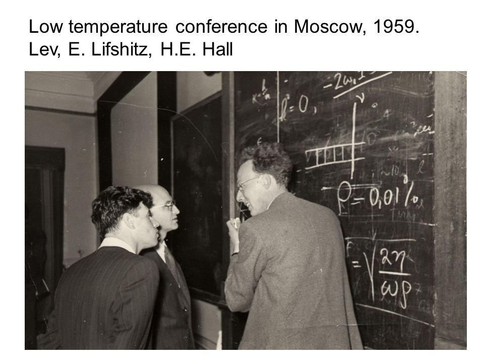 Moscow, 1988. Lev, A. Andreev, I. Dzyaloshinskii