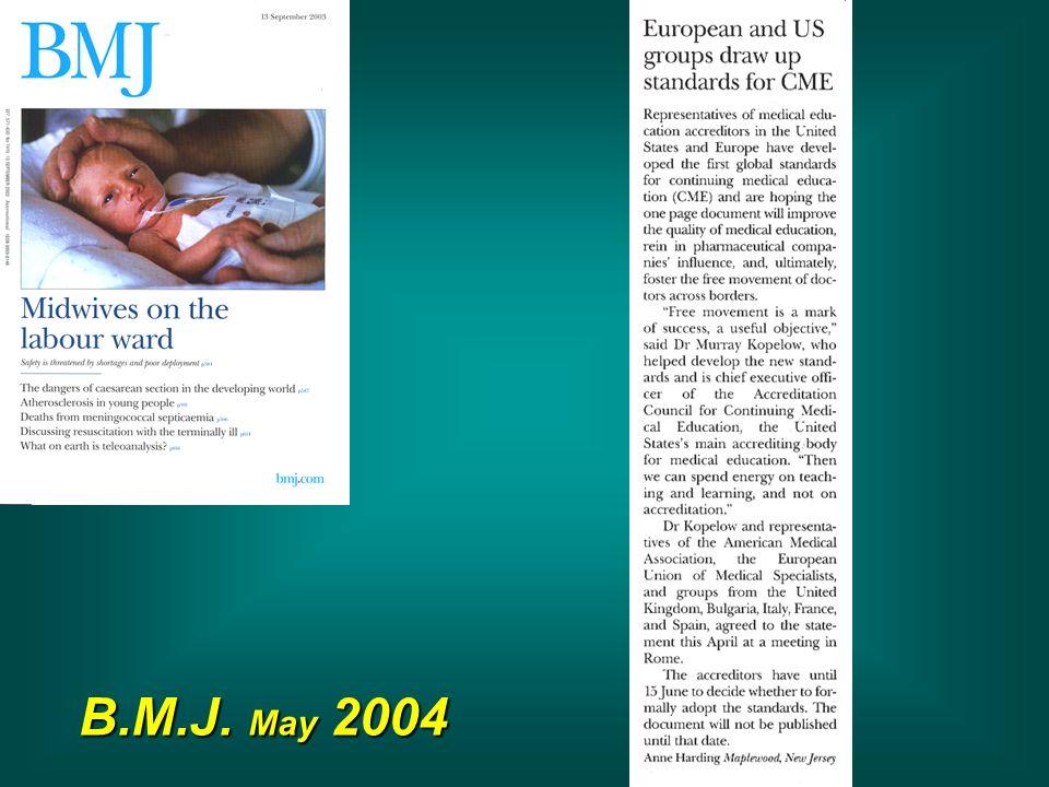 B.M.J. May 2004