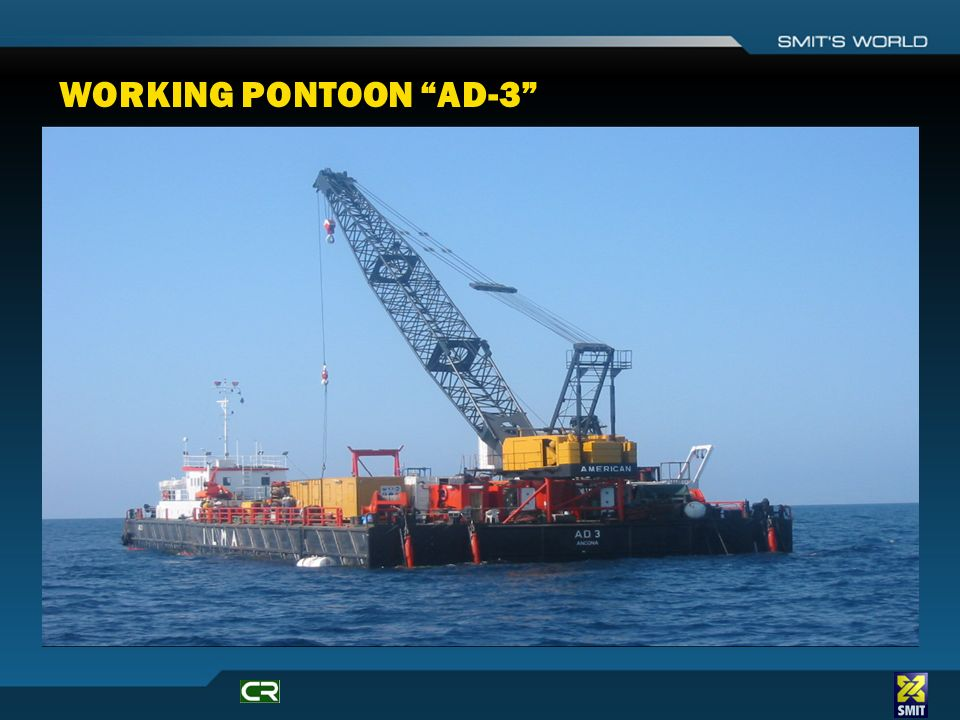 WORKING PONTOON AD-3