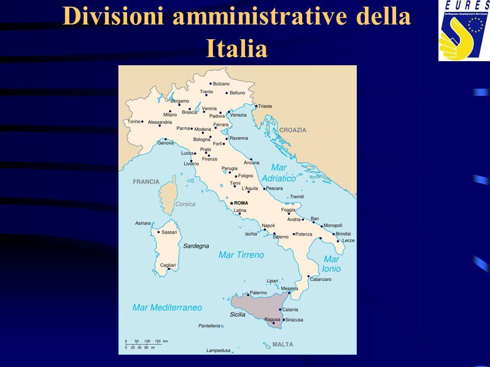 Divisioni amministrative della Italia