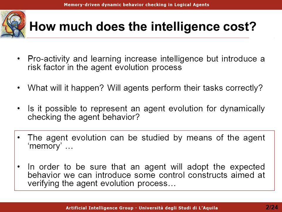 How much does the intelligence cost.