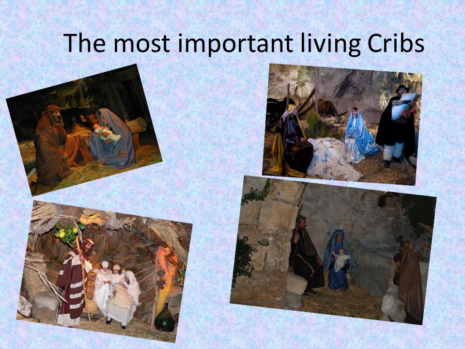 The most important living Cribs