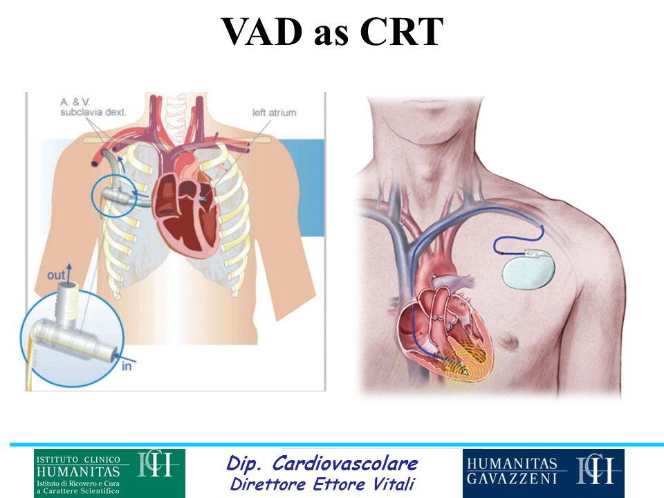 Dip. Cardiovascolare Direttore Ettore Vitali VAD as CRT