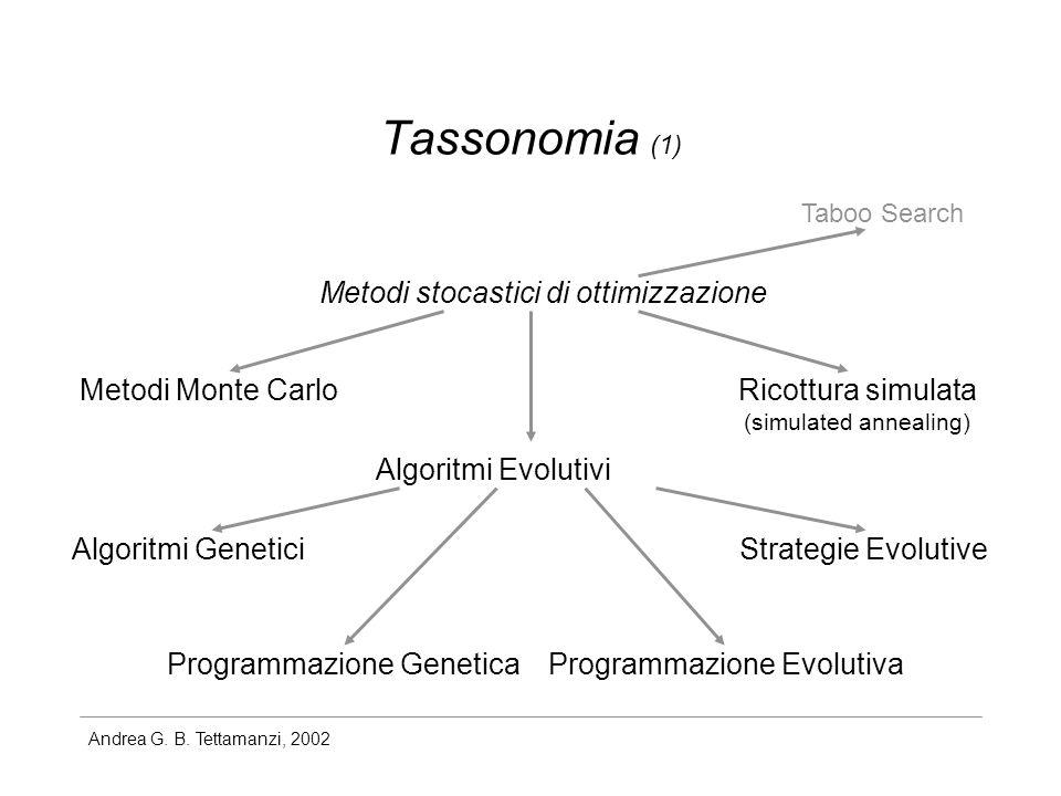 Andrea G.B. Tettamanzi, 2002 The Schema Theorem {X t } t=0,1,...