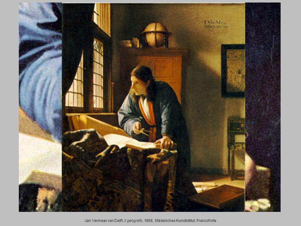 Jan Vermeer van Delft, Il geografo, 1668, Städelsches Kunstistitut, Francoforte