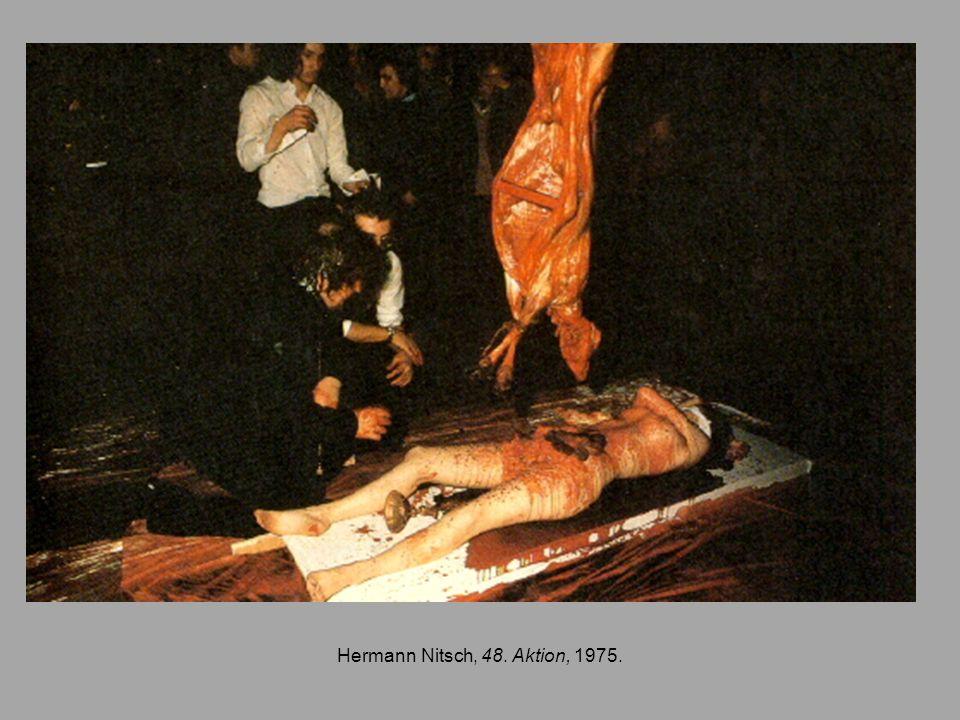 Hermann Nitsch, 48. Aktion, 1975.