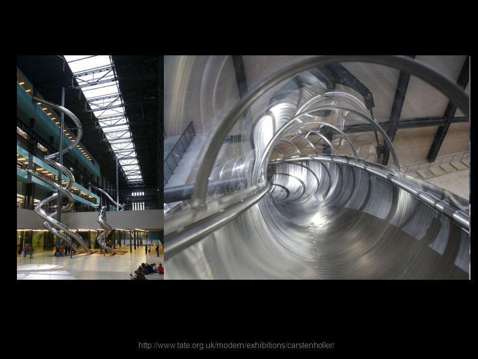http://www.tate.org.uk/modern/exhibitions/carstenholler/ Carsten Höller, Test Site, 2006, Tate Modern, Londra