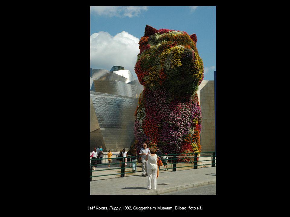 Jeff Koons, Puppy, 1992, Guggenheim Museum, Bilbao, foto elf.