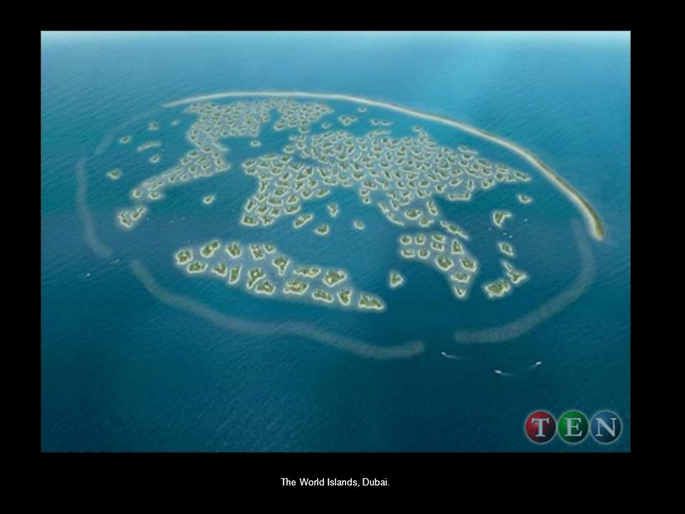 The World Islands, Dubai.