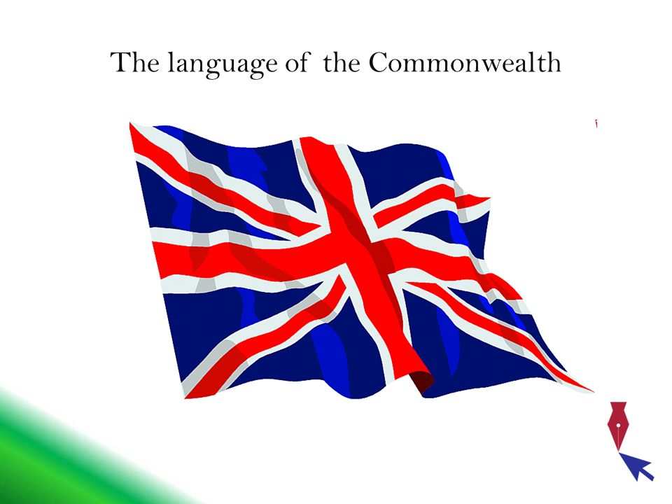 The language of the Commonwealth