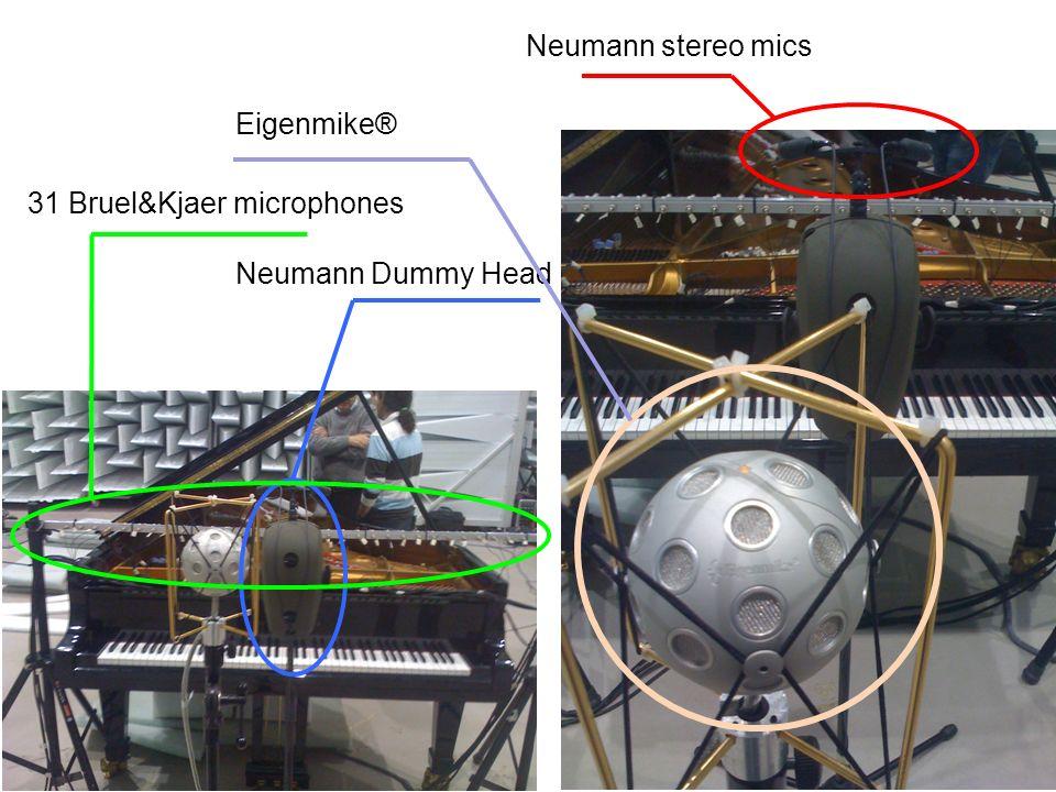 Neumann stereo mics Neumann Dummy Head Eigenmike® 31 Bruel&Kjaer microphones