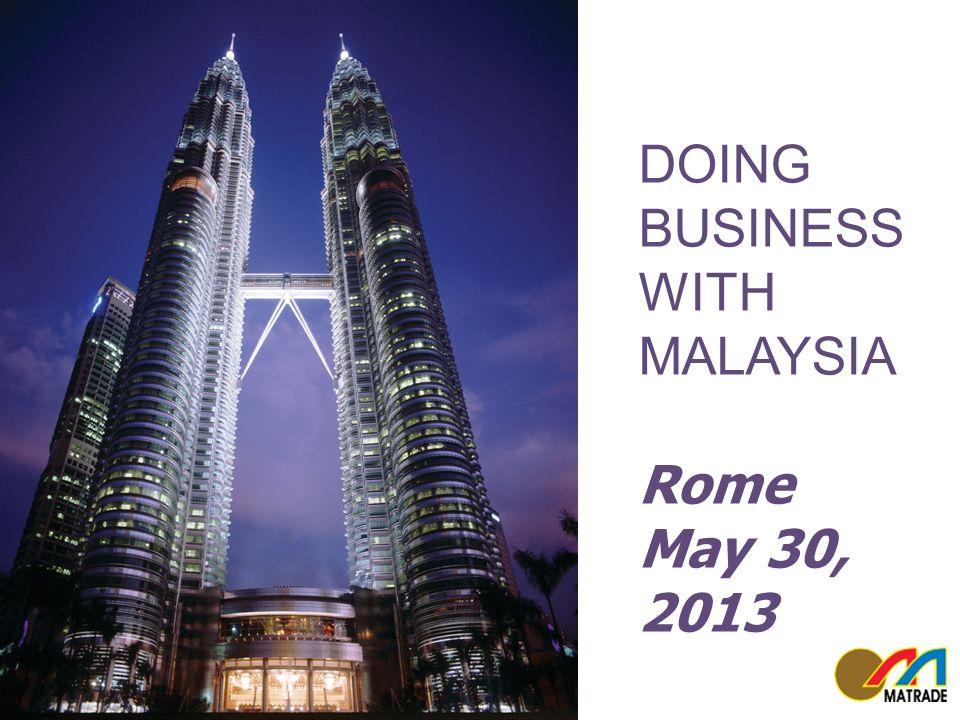 12 www.matrade.gov.my Malaysia External Trade Development Corporation  12 Trade in Services (Jan – Sept 2012) EXPORTS UP 5.7% IMPORTS UP 13% TRADE UP 9.5% 12 US27.83 billion US31.31 billion US59.14 billion