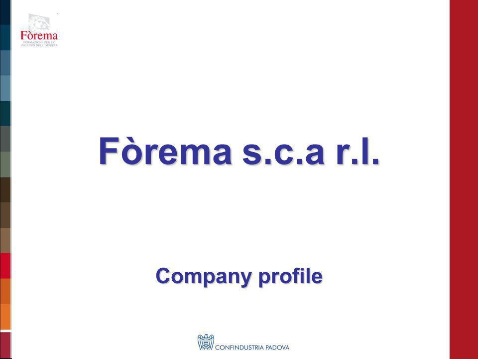 Fòrema s.c.a r.l. Company profile