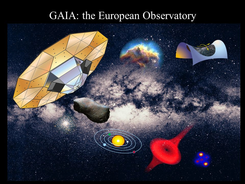 OATo Seminars on formation and Evolution of the Galaxy 60 GAIA: the European Observatory