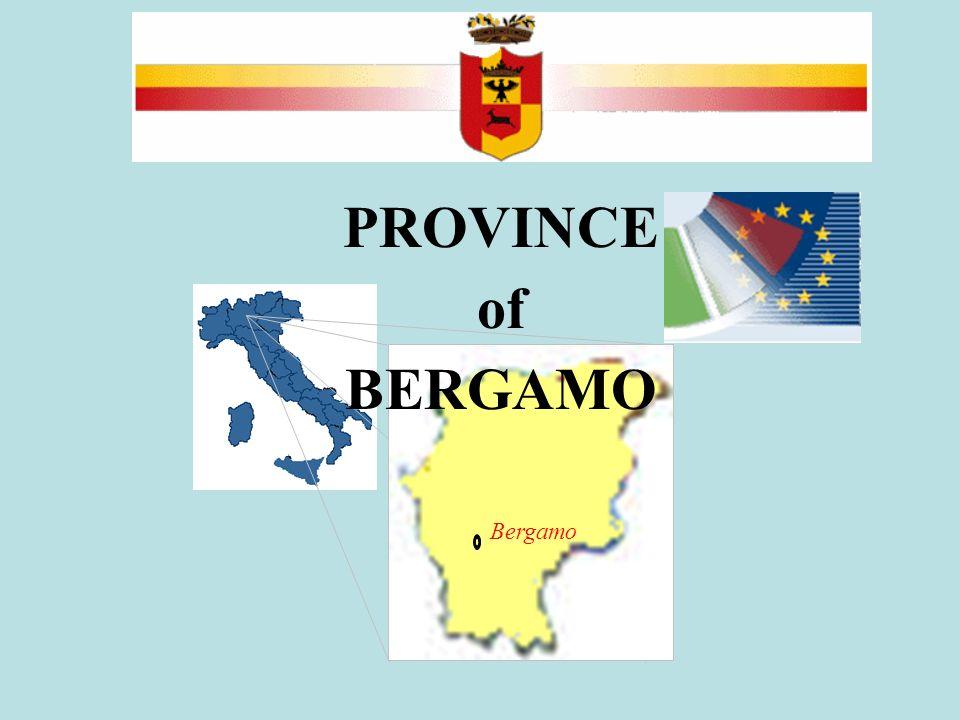 PROVINCE of BERGAMO Bergamo