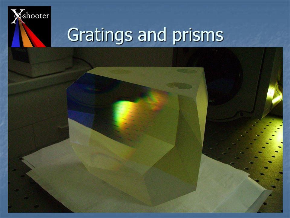 Teramo - SAIt 2008 P. Spanò 18 Gratings and prisms All new rulings A. De Ugarte Postigo (I)