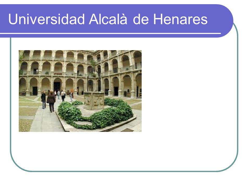 Universidad Alcalà de Henares