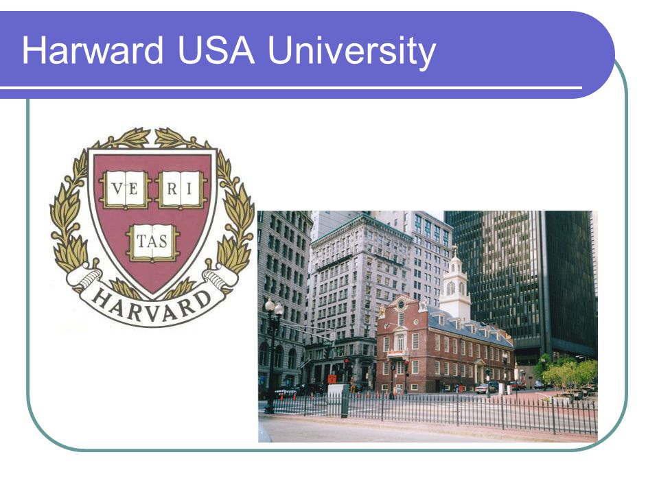 Harward USA University