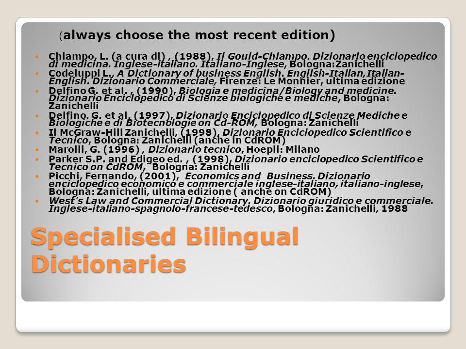 Websites listing several dictionaries 1.
