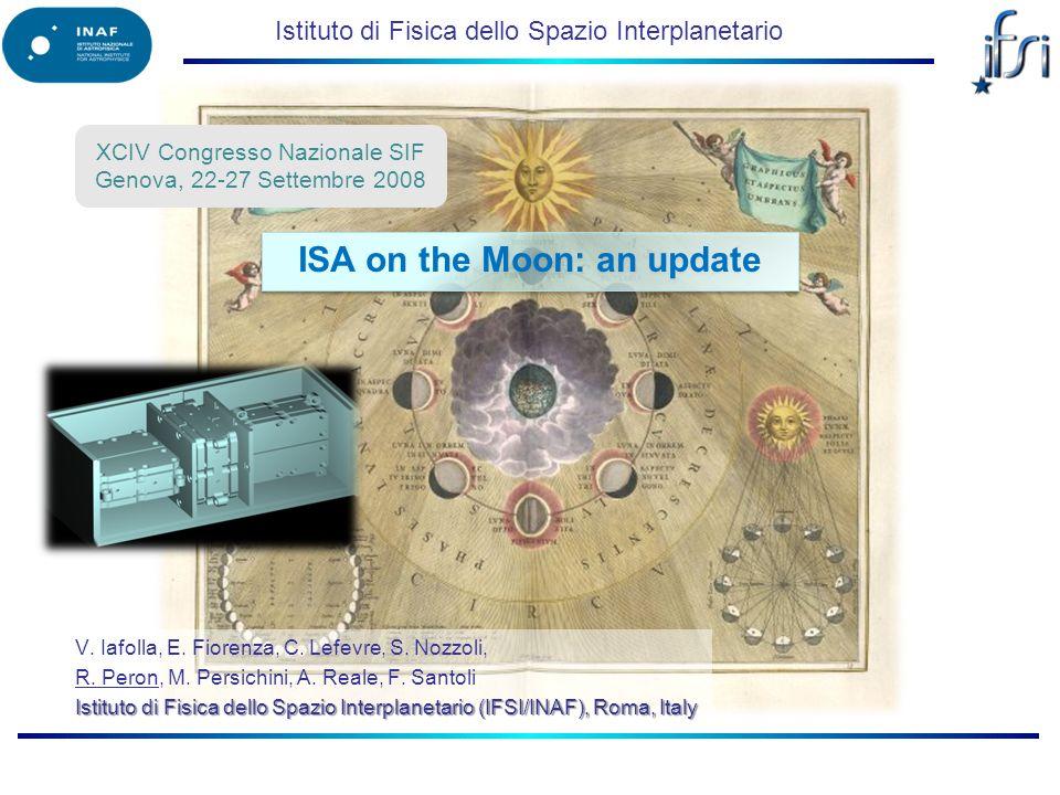 Istituto di Fisica dello Spazio Interplanetario V.
