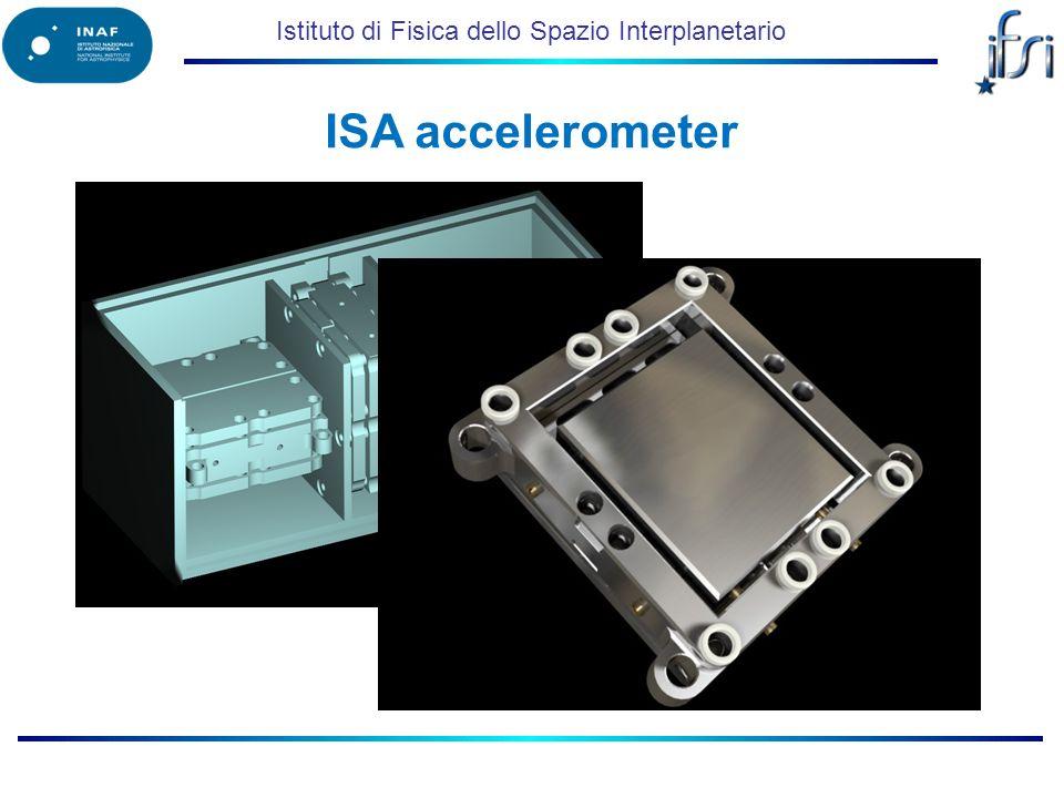 Istituto di Fisica dello Spazio Interplanetario ISA accelerometer