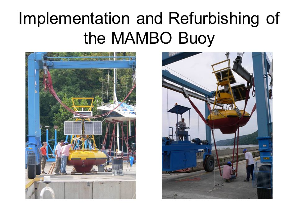 Implementation and Refurbishing of the MAMBO Buoy