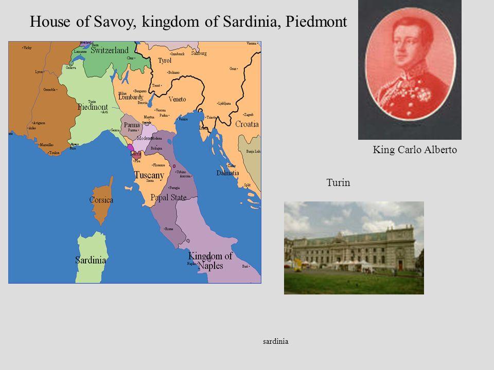 sardinia House of Savoy, kingdom of Sardinia, Piedmont King Carlo Alberto Turin