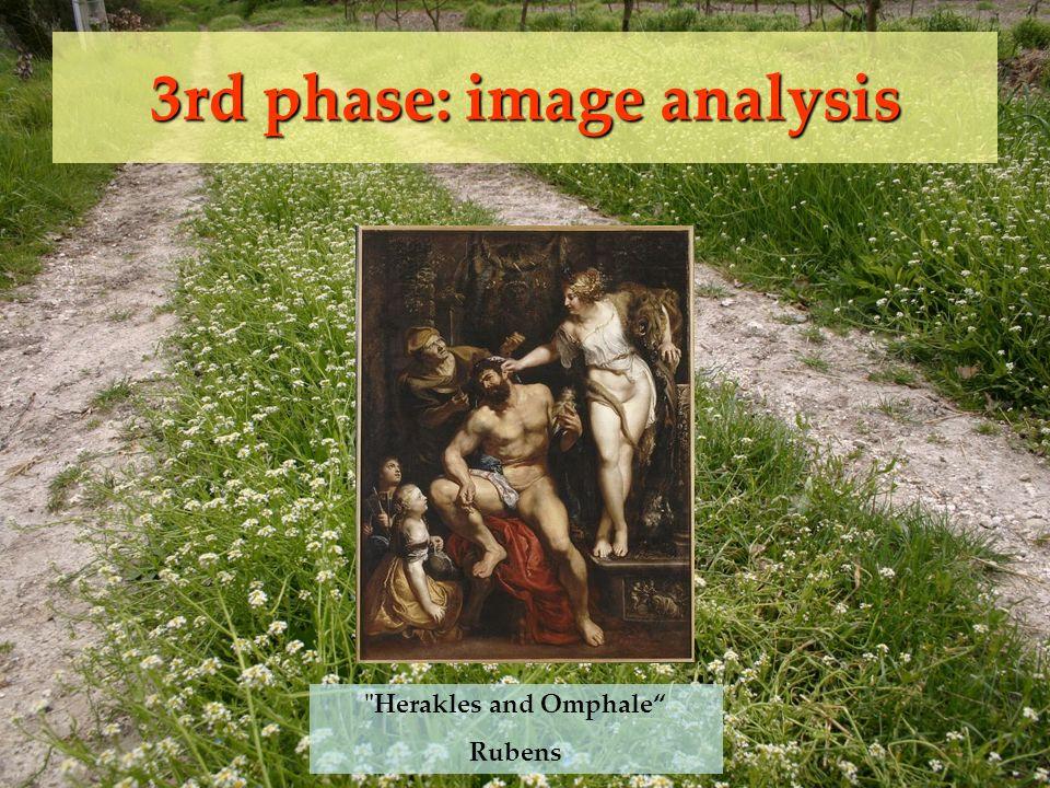 3rd phase: image analysis