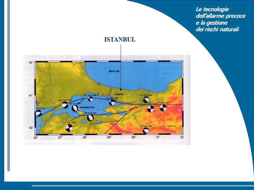 Le tecnologie dellallarme precoce e la gestione dei rischi naturali ISTANBUL