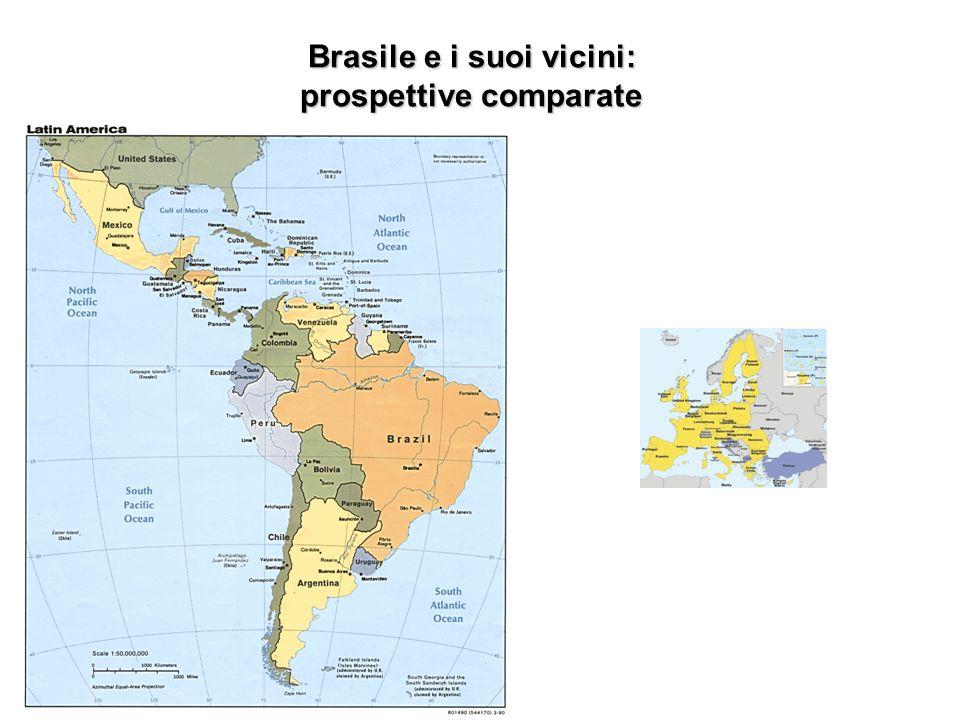Brasile e i suoi vicini: prospettive comparate