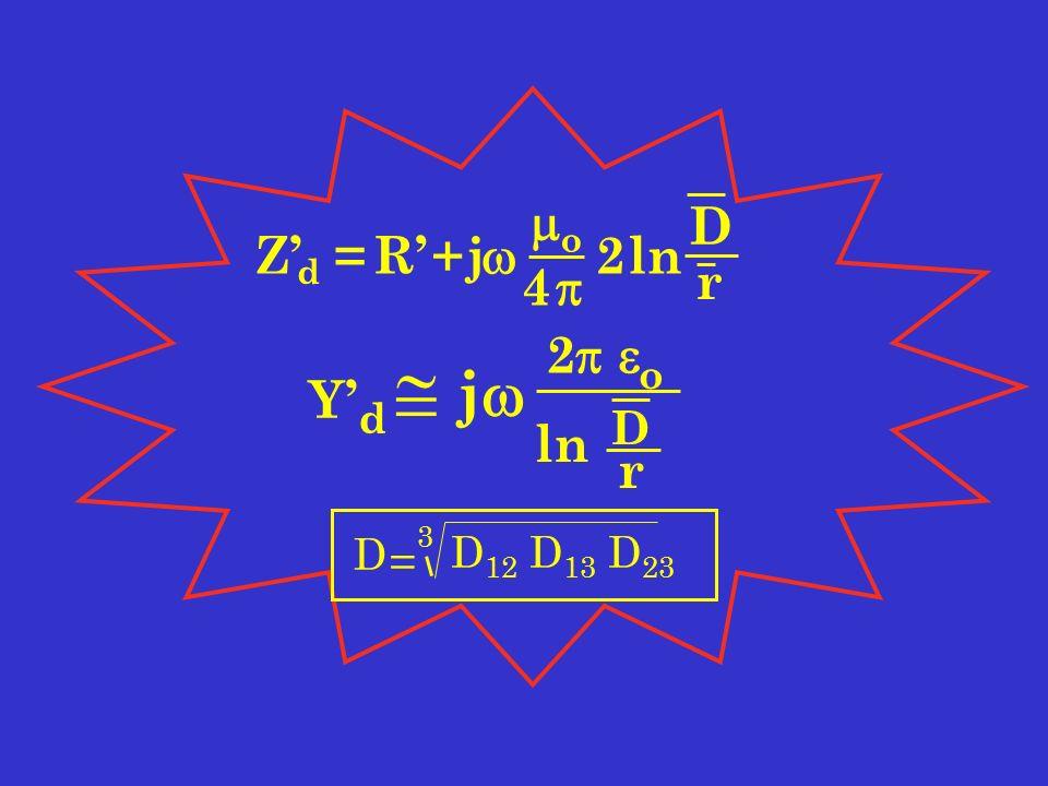 YdYd j 2 o D ln r Z d =R+j o 4 2ln D r D = D 12 D 13 D 23 3